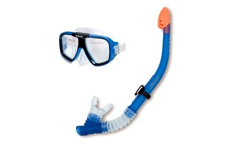 Marimex Set brýle a šnorchl modrý - 11630022