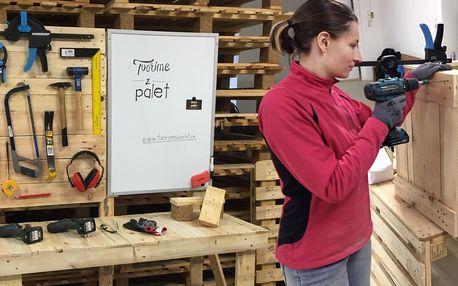 Víkendový workshop: Vyrobte si nábytek z palet
