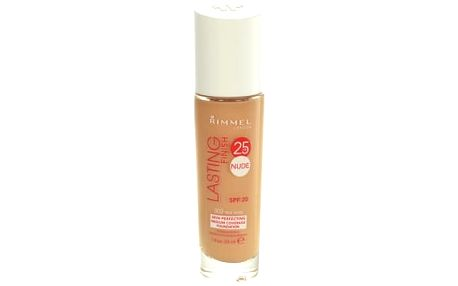 Rimmel London Lasting Finish 25hr Nude SPF20 30 ml makeup pro ženy 010 Light Porcelain