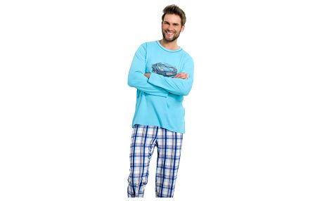 Pánské pyžamo Leon modré M