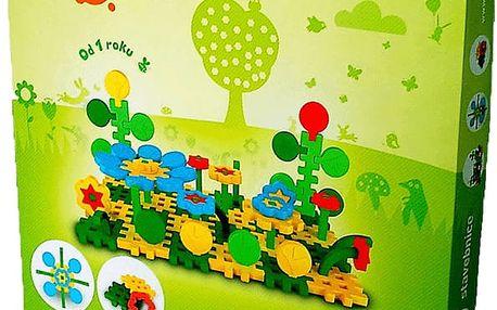 VISTA Stavebnice Blok Flora 4 – plast 85ks