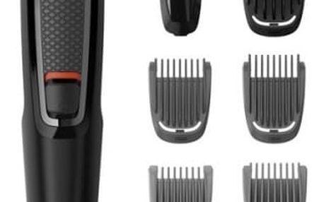 Zastřihovač vousů Philips Series 3000 MG3720/15 černý