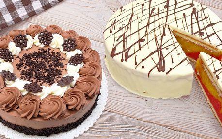 Vynikající dorty z kavárny Golden Pacific