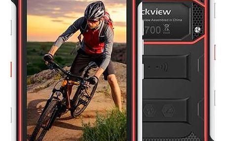 Mobilní telefon iGET BLACKVIEW GBV6000s (84000414) černý/červený Software F-Secure SAFE 6 měsíců pro 3 zařízení (zdarma) + Doprava zdarma