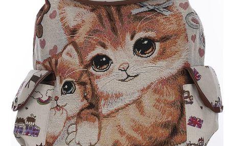 Fashion Icon Dámský batoh Family cats s kočkou