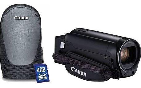 Videokamera Canon R806 Essential Kit + pouzdro + karta (1960C015) černá + Doprava zdarma