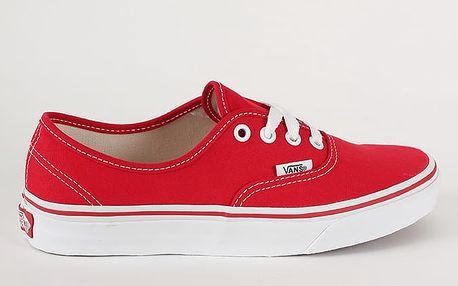 Boty Vans U Authentic Red Červená