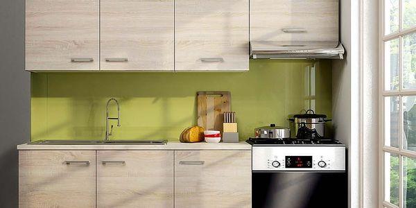 Kuchyňská linka Sono 120/180, pracovní deska v celku