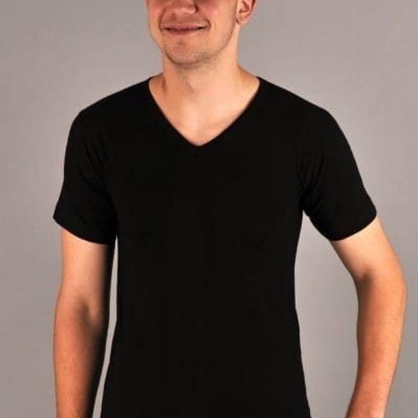 Pánské tričko Jiří černá M