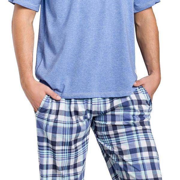 Pánské pyžamo Adam modré M
