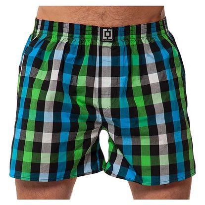 Pánské Trenky Horsefeathers Sin Boxer Shorts Green XL