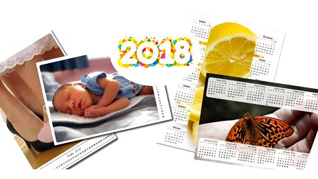 Nástěnné i plakátové fotokalendáře z vašich fotografií