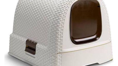 Toaleta pro kočky Curver Rattan + Doprava zdarma