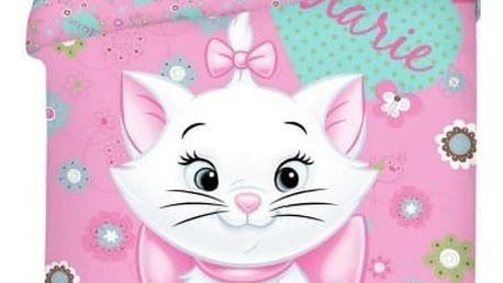 Jerry Fabrics Dětské povlečení MARIE CAT 2015 140x200 70x90
