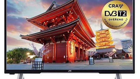 Televize JVC LT-49VF53A černá + Doprava zdarma