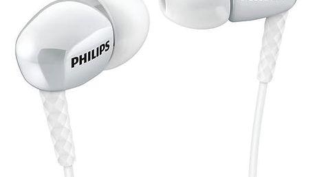 Sluchátka Philips SHE3900W (SHE3900WT) bílá