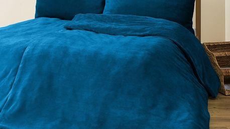 4Home povlečení mikroflanel modrá