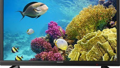 Sencor SLE 2464TCS - 60cm + Flashdisk A-data 16GB v ceně 200 kč