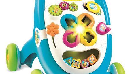 SMOBY Cotoons Chodítko Walk&Play modré