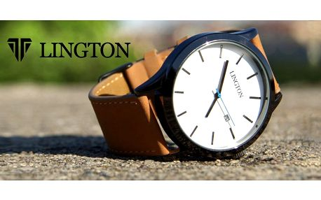 Minimalistické hodinky Lington
