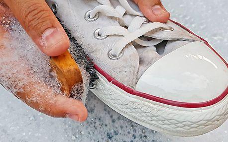 2 varianty čištění tenisek vč. odstranění pachu