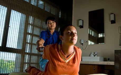 60-90min. thajská jasmínová masáž pro 1 či 2 osoby