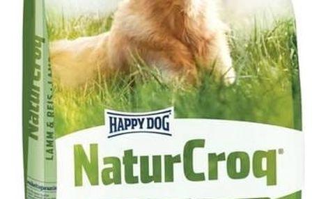 Granule HAPPY DOG Natur-Croq ADULT Lamm&Rice 15 kg + Doprava zdarma