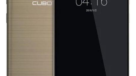 Mobilní telefon CUBOT Cheetah 2 Dual SIM (PH2766) zlatý