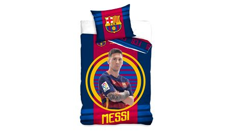 Tip Trade Povlečení FC Barcelona Messi, 140 x 200 cm, 70 x 80 cm