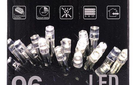 Vánoční světelný řetěz, bílá, 96 LED, 720 cm
