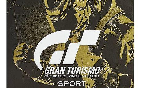 Gran Turismo Sport - Steelbook Edition (PS4) - PS719831051 + Kšiltovka Gran Turismo Sport
