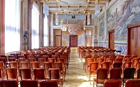 Exkluzivní představení Mozart a Strauss v Grégrově sálu Obecního domu.