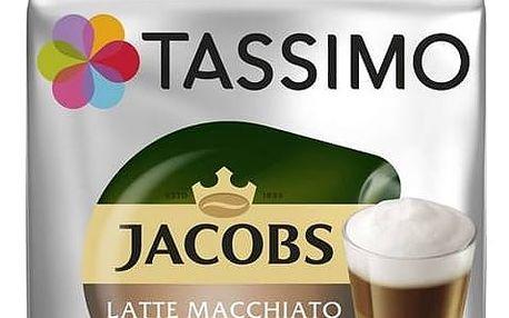 Kapsle pro espressa Tassimo Jacobs Krönung Latte Macchiato 264g 3x