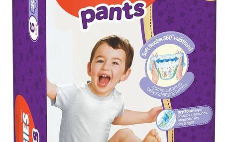 HUGGIES® Pants Jumbo 6 (15-25 kg), 30 ks - plenkové kalhotky