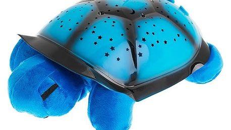 Svítící noční želvička - modrá
