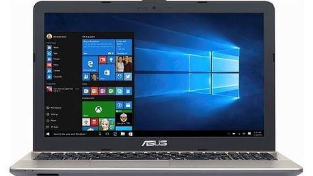Notebook Asus X541UA-DM1233T (X541UA-DM1233T) černý Software F-Secure SAFE 6 měsíců pro 3 zařízení (zdarma) + Doprava zdarma