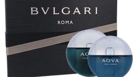 Bvlgari Aqva Pour Homme dárková kazeta pro muže toaletní voda 100 ml + toaletní voda 15ml
