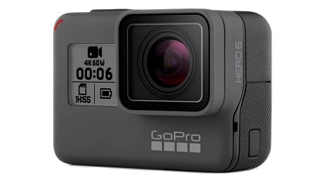 Outdoorová kamera GoPro HERO6 Black černá + DOPRAVA ZDARMA
