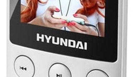 MP3 přehrávač Hyundai MPC 501 GB8 FM S stříbrný