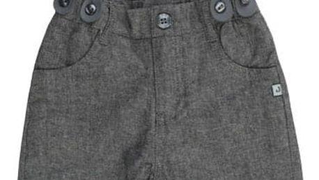 JACKY Kalhoty s kšandami CLASSIC, vel. 92- tmavě šedá , Kluci