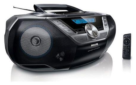 Radiopřijímač s CD Philips AZ780 (AZ780/12) černý