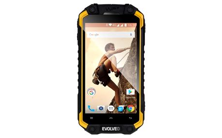 Mobilní telefon Evolveo StrongPhone Q9 (SGP-Q9-Y) černý/žlutý Software F-Secure SAFE, 3 zařízení / 6 měsíců v hodnotě 979 Kč + DOPRAVA ZDARMA