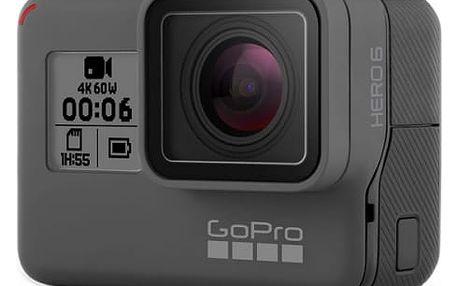 Outdoorová kamera GoPro HERO6 Black černá