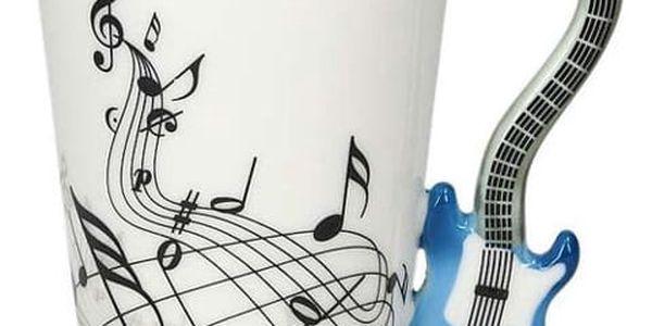 Kytarový hrnek 220 ml - modrá