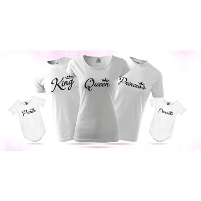 Párová trička pro celou rodinu