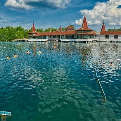 Hotel Sante***, 3* komfort ve slavných lázních s termálním jezerem