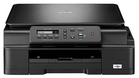Tiskárna multifunkční Brother DCP-J100, INK Benefit (DCPJ100YJ1) černá A4, 27str./min, 10str./min, 6000 x 1200, 64 MB, USB