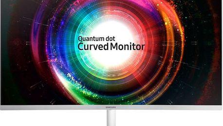 "Samsung C32H711 - LED monitor 32"" - LC32H711QEUXEN + TV Tuner USB 2.0 DVB-T OMEGA T300"