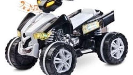 Toyz elektrická štvorkolka Raptor black