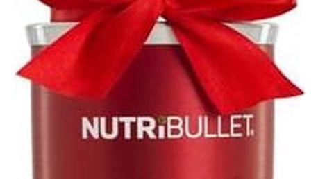 Stolní mixér Delimano NUTRIBULLET 600 Red červený Multifunkční nůž Clever Cutter (zdarma) + Doprava zdarma